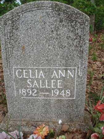 SALLEE, CELIA ANN - Baxter County, Arkansas | CELIA ANN SALLEE - Arkansas Gravestone Photos