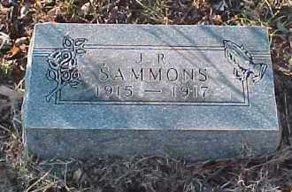 SAMMONS, J. R. - Baxter County, Arkansas | J. R. SAMMONS - Arkansas Gravestone Photos