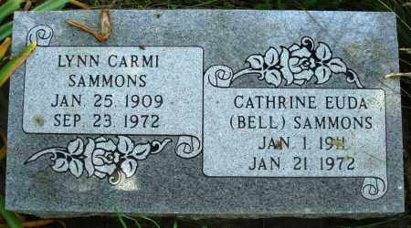 BELL SAMMONS, CATHERINE EUDA - Baxter County, Arkansas | CATHERINE EUDA BELL SAMMONS - Arkansas Gravestone Photos