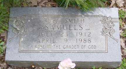 SMITH SAMUELS, RUBY - Baxter County, Arkansas | RUBY SMITH SAMUELS - Arkansas Gravestone Photos