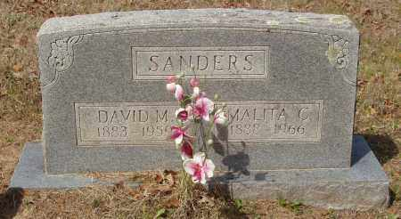 SANDERS, DAVID MONROE - Baxter County, Arkansas | DAVID MONROE SANDERS - Arkansas Gravestone Photos