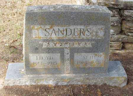 SANDERS, LLOYD - Baxter County, Arkansas | LLOYD SANDERS - Arkansas Gravestone Photos