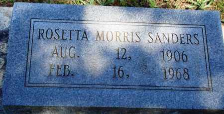 SANDERS, ROSETTA - Baxter County, Arkansas | ROSETTA SANDERS - Arkansas Gravestone Photos