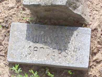 SANDERS, WILSON - Baxter County, Arkansas | WILSON SANDERS - Arkansas Gravestone Photos