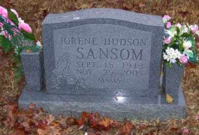 SANSOM, JORENE - Baxter County, Arkansas | JORENE SANSOM - Arkansas Gravestone Photos