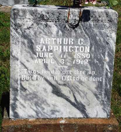 SAPPINGTON, ARTHUR C - Baxter County, Arkansas | ARTHUR C SAPPINGTON - Arkansas Gravestone Photos