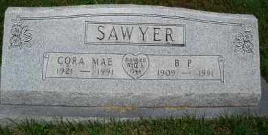 SAWYER, B. P. - Baxter County, Arkansas | B. P. SAWYER - Arkansas Gravestone Photos