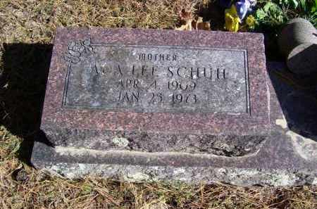 CLARK SCHUH, ADA LEE - Baxter County, Arkansas | ADA LEE CLARK SCHUH - Arkansas Gravestone Photos