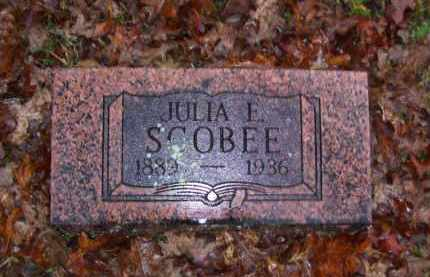 SCOBEE, JULIA E. - Baxter County, Arkansas | JULIA E. SCOBEE - Arkansas Gravestone Photos