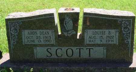 SCOTT, ARON DEAN - Baxter County, Arkansas | ARON DEAN SCOTT - Arkansas Gravestone Photos
