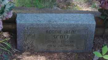 SCOTT, BONNIE IRENE - Baxter County, Arkansas | BONNIE IRENE SCOTT - Arkansas Gravestone Photos