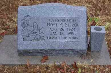 SETZER, HOYT P. - Baxter County, Arkansas | HOYT P. SETZER - Arkansas Gravestone Photos