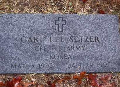 SETZER (VETERAN KOR), CARL LEE - Baxter County, Arkansas | CARL LEE SETZER (VETERAN KOR) - Arkansas Gravestone Photos