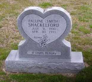 SMITH SHACKELFORD, PAULINE - Baxter County, Arkansas | PAULINE SMITH SHACKELFORD - Arkansas Gravestone Photos