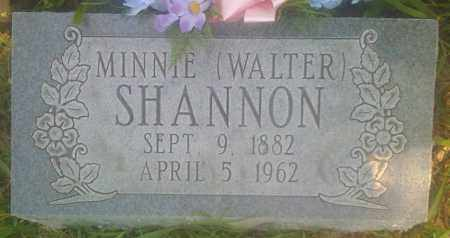 SHANNON, MINNIE - Baxter County, Arkansas | MINNIE SHANNON - Arkansas Gravestone Photos