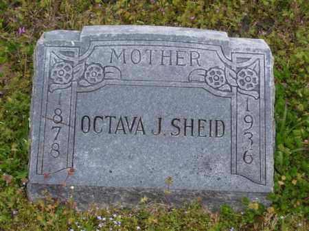 SHEID, OCTAVA J. - Baxter County, Arkansas | OCTAVA J. SHEID - Arkansas Gravestone Photos