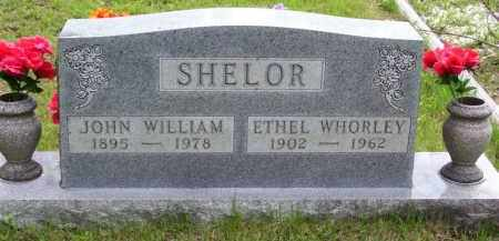 SHELOR, JOHN WILLIAM - Baxter County, Arkansas | JOHN WILLIAM SHELOR - Arkansas Gravestone Photos