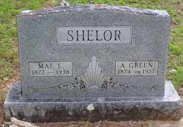 SHELOR, MAE E. - Baxter County, Arkansas | MAE E. SHELOR - Arkansas Gravestone Photos