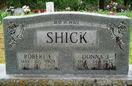 SHICK, DONNA J - Baxter County, Arkansas | DONNA J SHICK - Arkansas Gravestone Photos