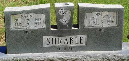 SHRABLE, MAXINE - Baxter County, Arkansas | MAXINE SHRABLE - Arkansas Gravestone Photos