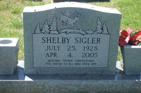 SIGLER, SHELBY - Baxter County, Arkansas | SHELBY SIGLER - Arkansas Gravestone Photos