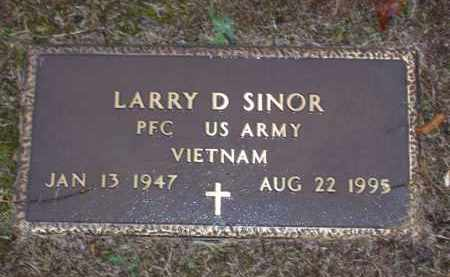 SINOR (VETERAN VIET), LARRY DALE - Baxter County, Arkansas | LARRY DALE SINOR (VETERAN VIET) - Arkansas Gravestone Photos