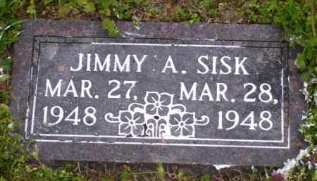 SISK, JIMMY A. - Baxter County, Arkansas | JIMMY A. SISK - Arkansas Gravestone Photos