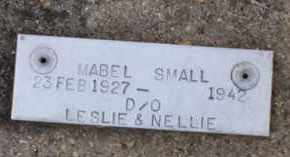 SMALL, MABEL - Baxter County, Arkansas | MABEL SMALL - Arkansas Gravestone Photos