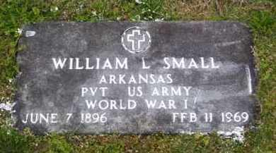 SMALL (VETERAN WWI), WILLIAM LESLIE - Baxter County, Arkansas | WILLIAM LESLIE SMALL (VETERAN WWI) - Arkansas Gravestone Photos