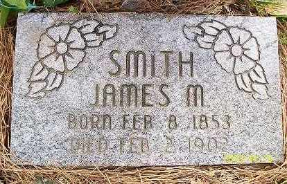 SMITH (1), JAMES M. - Baxter County, Arkansas | JAMES M. SMITH (1) - Arkansas Gravestone Photos