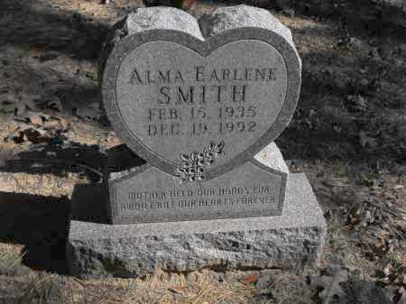 SMITH, ALMA EARLENE - Baxter County, Arkansas | ALMA EARLENE SMITH - Arkansas Gravestone Photos