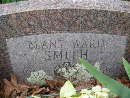SMITH, BLANT WARD - Baxter County, Arkansas | BLANT WARD SMITH - Arkansas Gravestone Photos