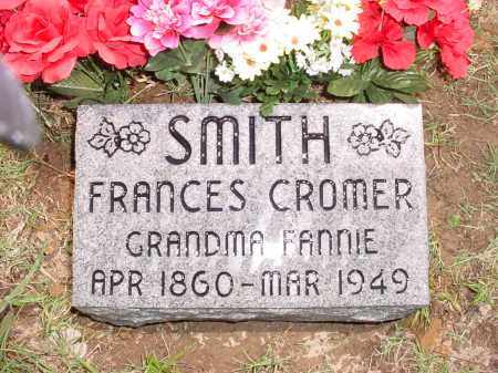 CROMER SMITH, FRANCES (OBIT) - Baxter County, Arkansas | FRANCES (OBIT) CROMER SMITH - Arkansas Gravestone Photos