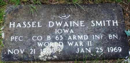 SMITH (VETERAN WWII), HASSEL DWAINE - Baxter County, Arkansas | HASSEL DWAINE SMITH (VETERAN WWII) - Arkansas Gravestone Photos
