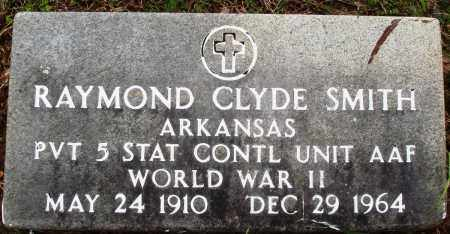 SMITH (VETERAN WWII), RAYMOND CLYDE - Baxter County, Arkansas | RAYMOND CLYDE SMITH (VETERAN WWII) - Arkansas Gravestone Photos
