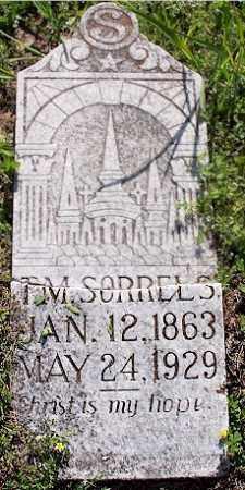 SORRELS, JR., THOMAS M. - Baxter County, Arkansas | THOMAS M. SORRELS, JR. - Arkansas Gravestone Photos