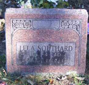 SOUTHARD, LELA - Baxter County, Arkansas | LELA SOUTHARD - Arkansas Gravestone Photos