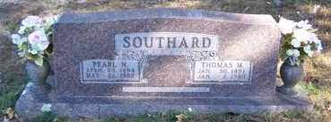 SOUTHARD, THOMAS M. - Baxter County, Arkansas | THOMAS M. SOUTHARD - Arkansas Gravestone Photos