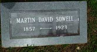 SOWELL, MARTIN DAVID - Baxter County, Arkansas | MARTIN DAVID SOWELL - Arkansas Gravestone Photos