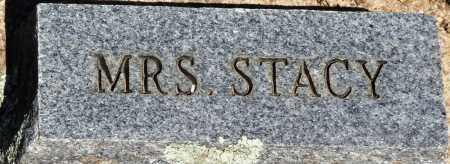 STACY, MRS - Baxter County, Arkansas | MRS STACY - Arkansas Gravestone Photos