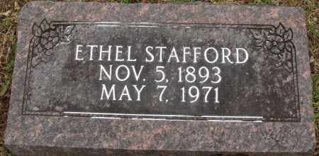 STAFFORD, ETHEL - Baxter County, Arkansas | ETHEL STAFFORD - Arkansas Gravestone Photos