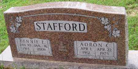 STAFFORD, FANNIE E - Baxter County, Arkansas | FANNIE E STAFFORD - Arkansas Gravestone Photos
