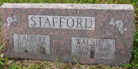 STAFFORD, WALSIE S - Baxter County, Arkansas | WALSIE S STAFFORD - Arkansas Gravestone Photos