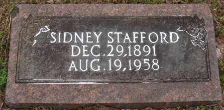 STAFFORD, SIDNEY - Baxter County, Arkansas | SIDNEY STAFFORD - Arkansas Gravestone Photos