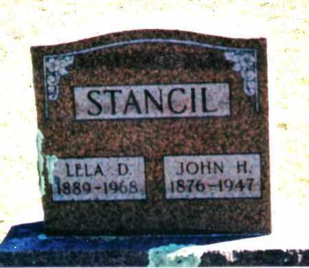 STANCIL, LELA D. - Baxter County, Arkansas | LELA D. STANCIL - Arkansas Gravestone Photos