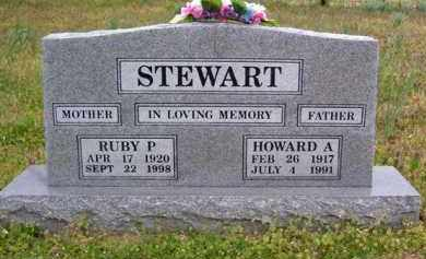 STEWART (2), HOWARD A. - Baxter County, Arkansas | HOWARD A. STEWART (2) - Arkansas Gravestone Photos