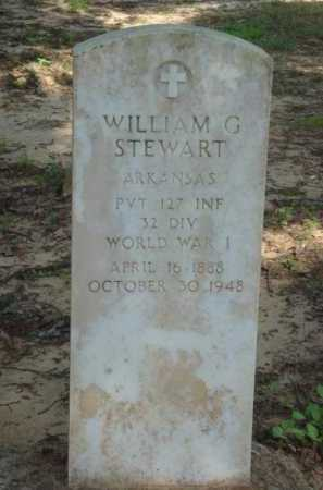 STEWART  (VETERAN WWI), WILLIAM GROVER - Baxter County, Arkansas | WILLIAM GROVER STEWART  (VETERAN WWI) - Arkansas Gravestone Photos