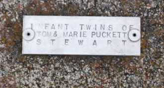 STEWART, INFANT TWINS - Baxter County, Arkansas | INFANT TWINS STEWART - Arkansas Gravestone Photos