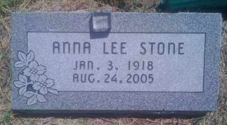 STONE, ANNA LEE - Baxter County, Arkansas | ANNA LEE STONE - Arkansas Gravestone Photos