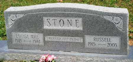 STONE, LOUISE MAE - Baxter County, Arkansas | LOUISE MAE STONE - Arkansas Gravestone Photos